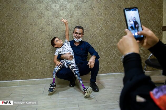 Disabled Iranian Child Longing to Attend Paralympic Games 1