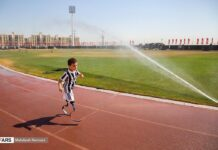 Disabled Iranian Child Longing to Attend Paralympic Games