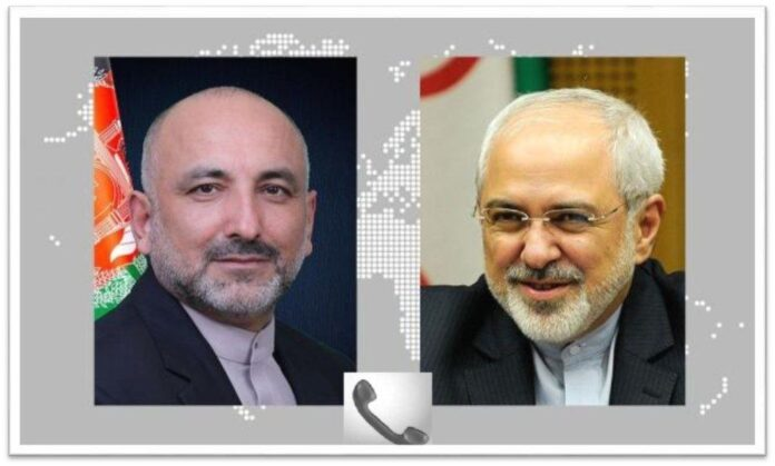 Iranian, Afghan Top Diplomats Discuss Peace Process