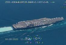 Iranian Drones Capture Close Footage of USS Nimitz