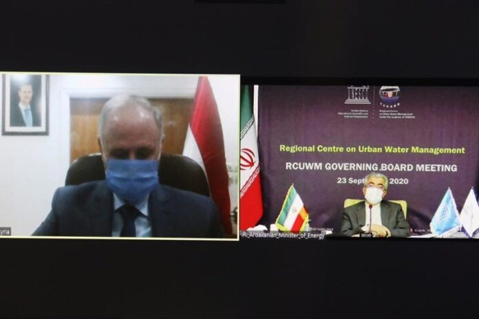 Iran, Syria to Form Strategic Committee of Water Cooperation