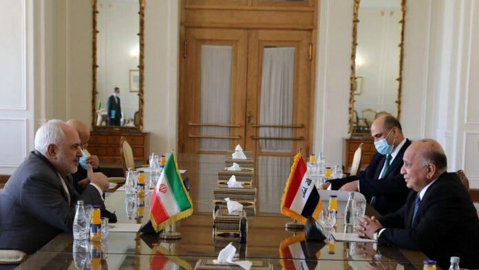 Iranian, Iraqi FMs Discuss Regional Issues in Tehran