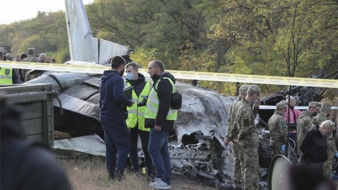 Iran Sympathizes with Ukraine over Military Plane Crash