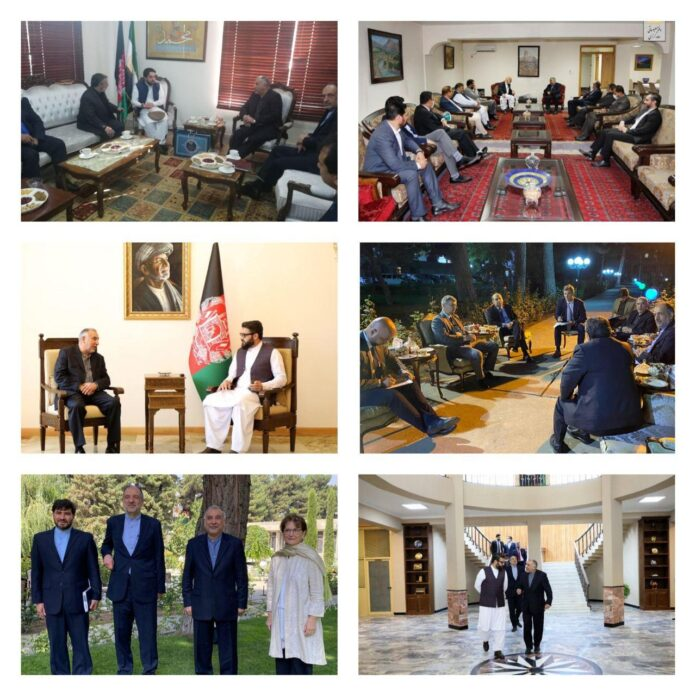 Iranian Diplomat Visits Afghanistan to Discuss Peace Process