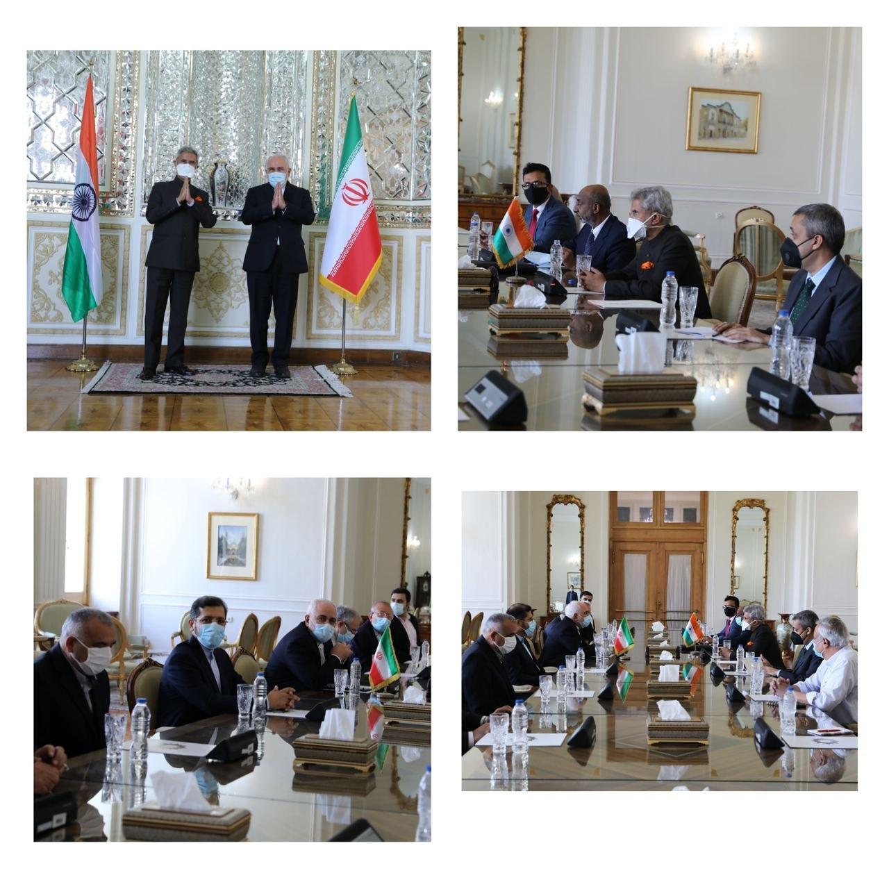 Iranian, Indian Top Diplomats Meet in Tehran 2