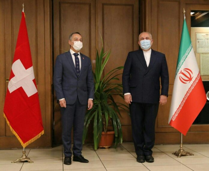 Iranian, Swiss Top Diplomats Hold 'Fruitful' Talks in Tehran