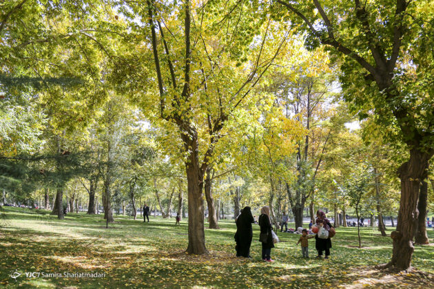 In Photos: Tehran's Beauties in Autumn