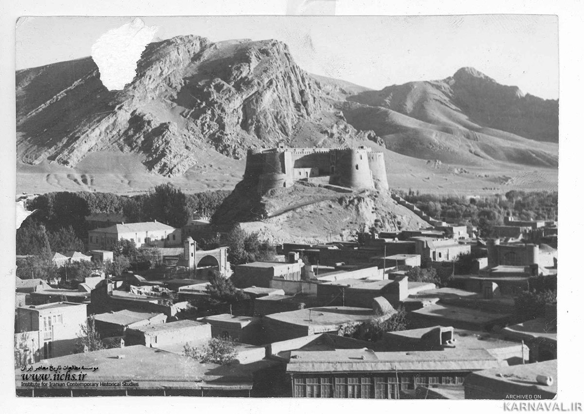 Castle of Falak-ol-Aflak old photo