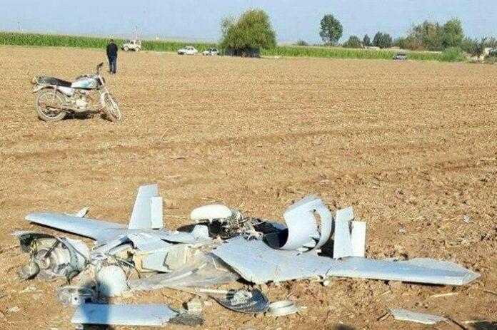 Drone Crashes in Northwestern Iran Near Karabakh Battlefield