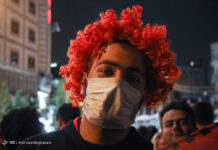 Football Fans in Iran Pour into Streets to Celebrate Persepolis ACL Success 22
