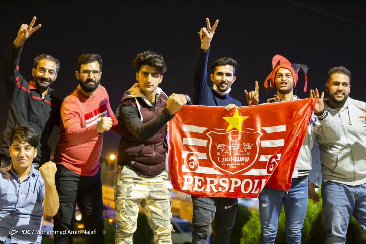 Football Fans In Iran Pour Into Streets To Celebrate Persepolis Acl Win Iran Front Page