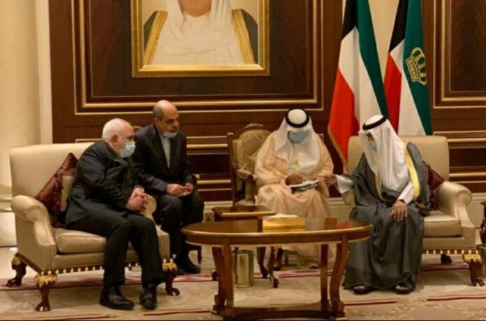 Iran FM Meets with New Emir in Trip to Kuwait 2