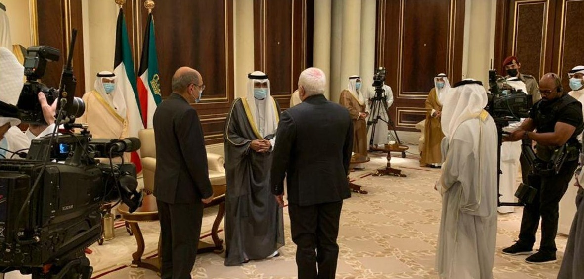 Iran FM Meets with New Emir in Trip to Kuwait