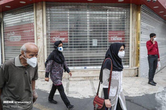 Iran Starts Fining Citizens Not Wearing Face Mask