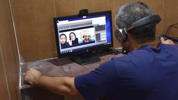 Iranian Inmates Can Now Meet Their Families Online 1