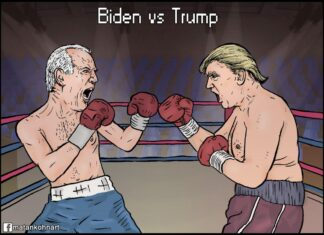 Iranian Papers Describe Trump-Biden Debate as 'Fight Club'