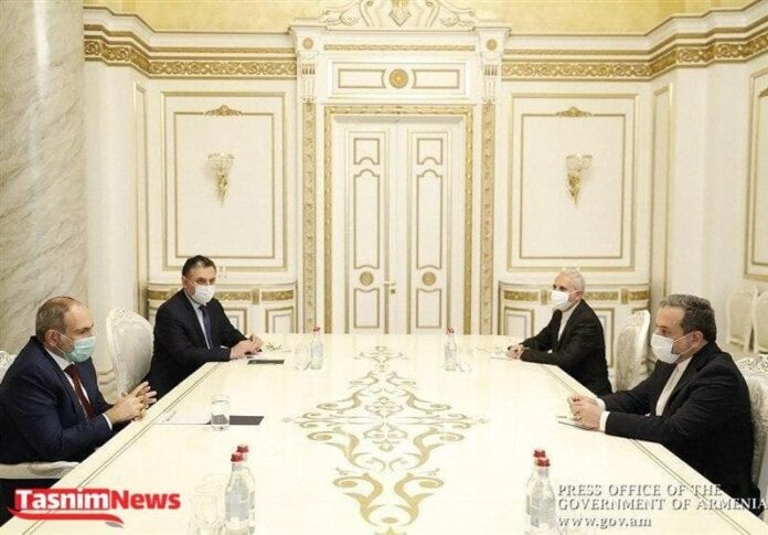 Iran's Envoy Meets Armenian PM to Discuss Nagorno-Karabakh Crisis