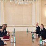Iran's Envoy Meets Azeri President in Baku Before Visiting Moscow