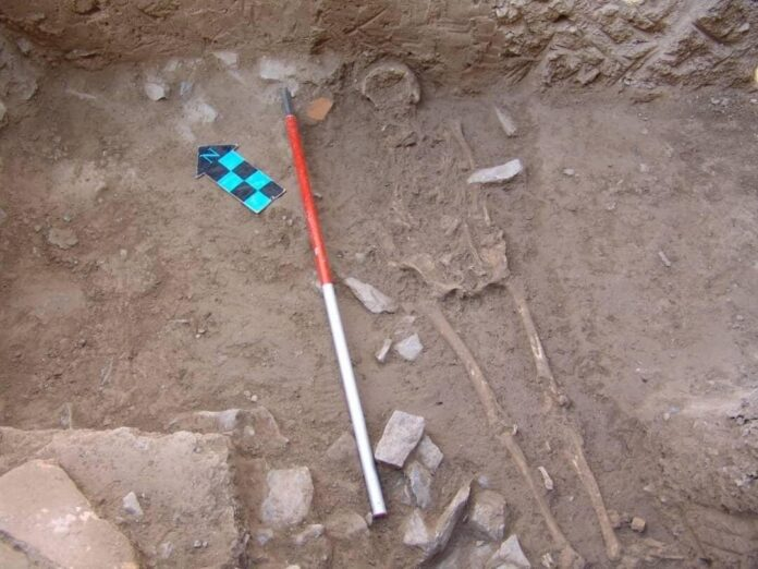 Skeleton of Another Parthian Woman Unearthed in Central Iran