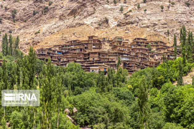 Iran in Photos: Stepped Village of Sar-e Aqa Seyyed