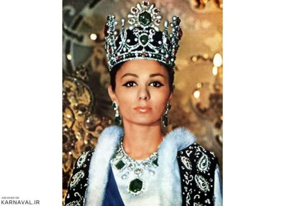 The necklace used in Farah Pahlavi's coronation