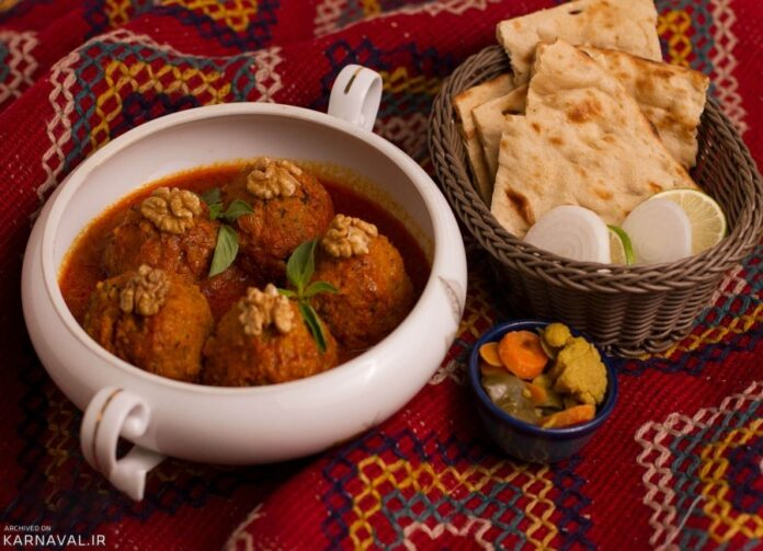 Chickpea Balls Kashan Culinary