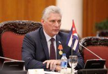Cuban President Blasts US Sanctions on Iran