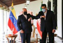 Iran FM Holds Talks with Venezuelan President in Caracas