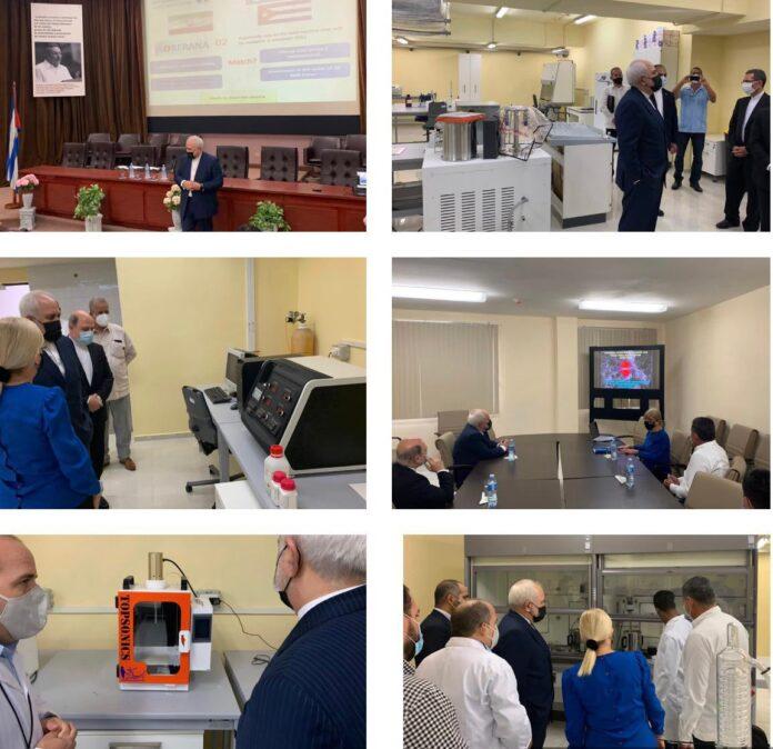Iran FM Visits Cuban Medical, Biotechnology Centres in Havana Trip