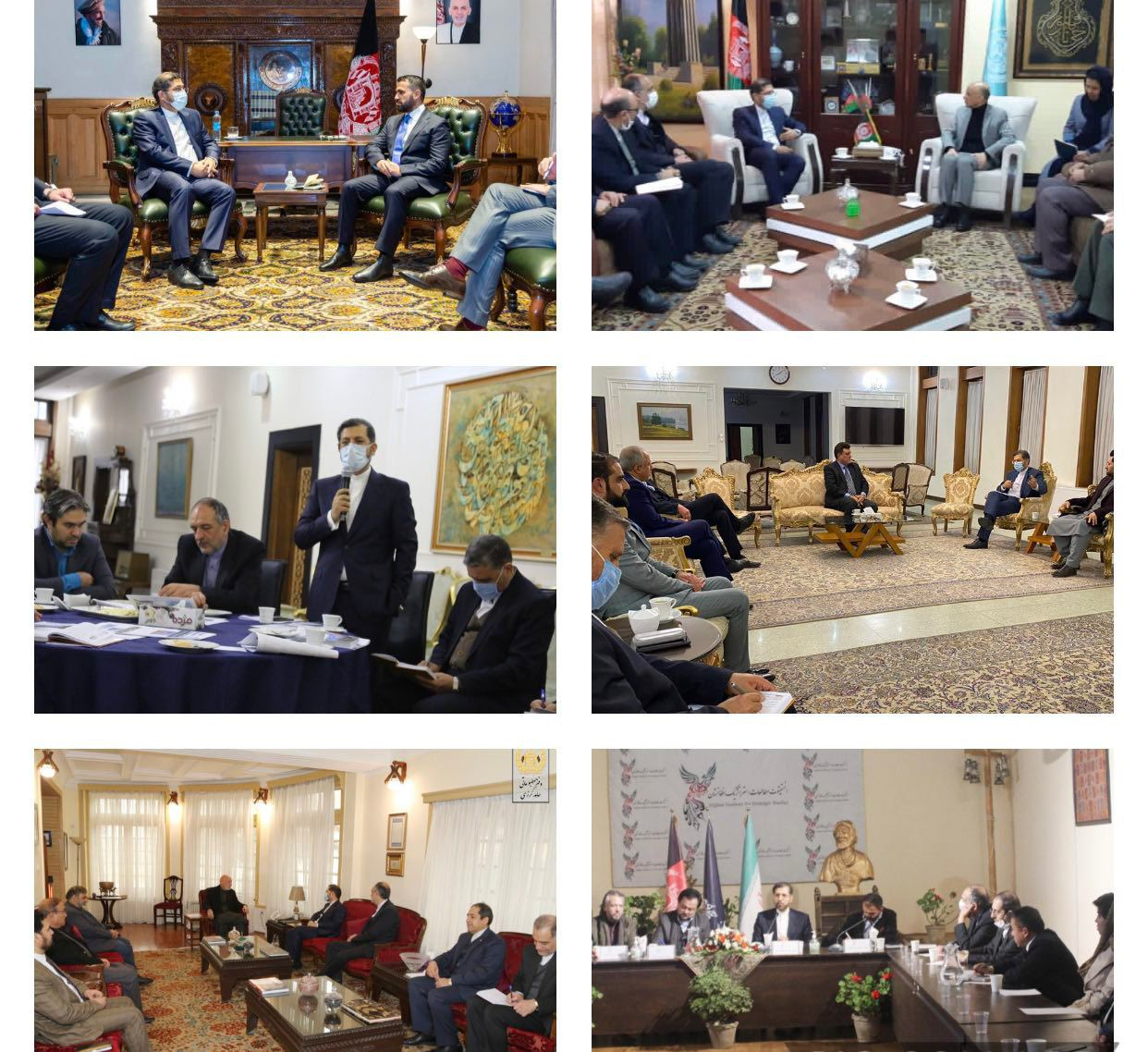Iranian Diplomat Meets Several Afghan Officials in Kabul | Iran Front Page