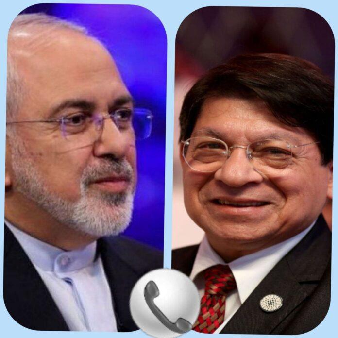 Principais diplomatas iranianos e nicaraguenses discutem cooperação mútua