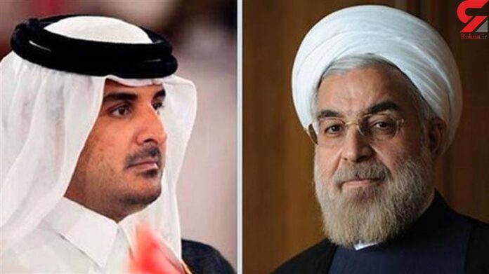 Iranian President's Message Submitted to Qatari Emir