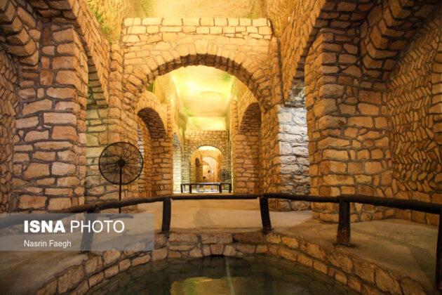 The underground historical town of Kariz