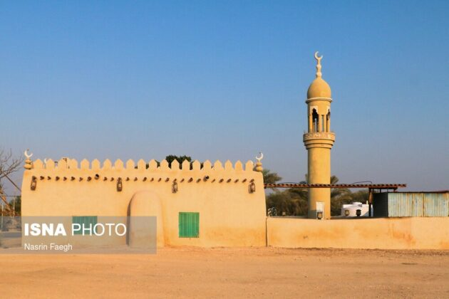 The Great Mosque of the Baghoo Village on Kish Island
