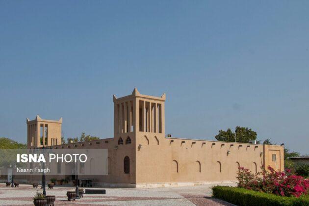 The historical Harireh Town on Kish Island