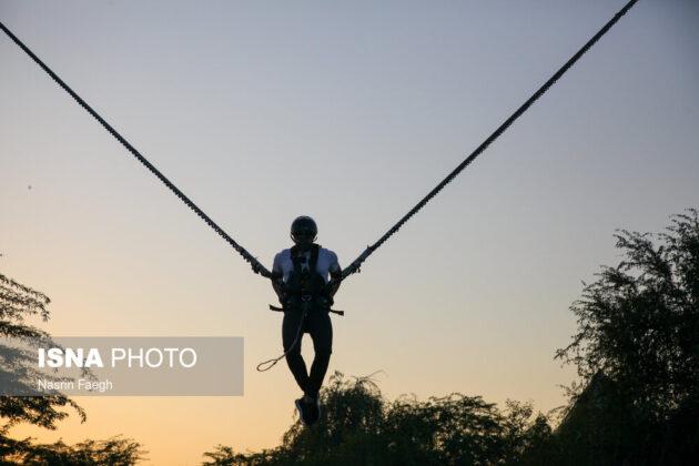 Shooting is one of safari entertainments on Kish Island