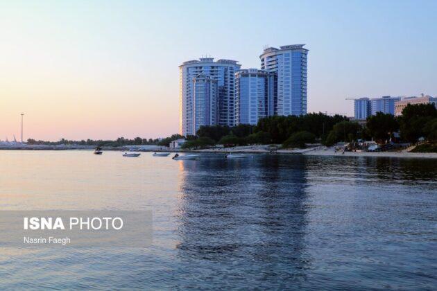 The Twin Towers on Marjan Beach
