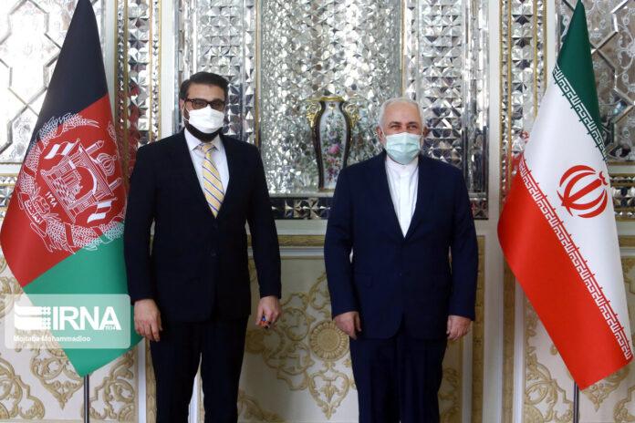 Iran's Zarif, Afghan National Security Advisor Meet in Tehran