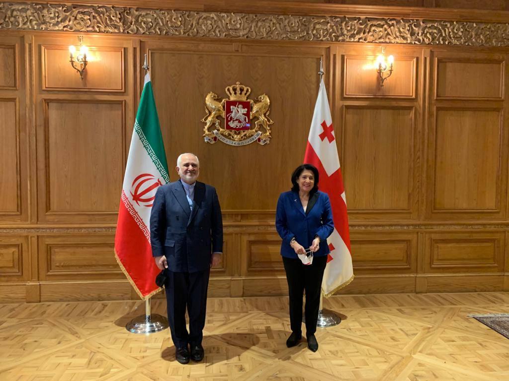 Zarif Arrives in Georgia after Trips to Baku, Moscow, Yerevan