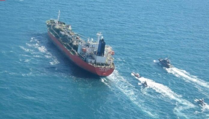 Iran Seizes South Korean-Flagged Chemical Tanker in Persian Gulf