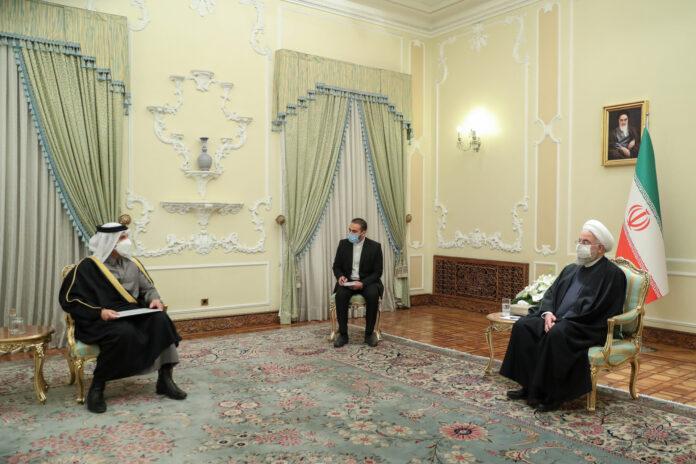 Irã dá as boas-vindas às negociações com os países do Golfo Pérsico, Rouhani diz à Qatari FM 2