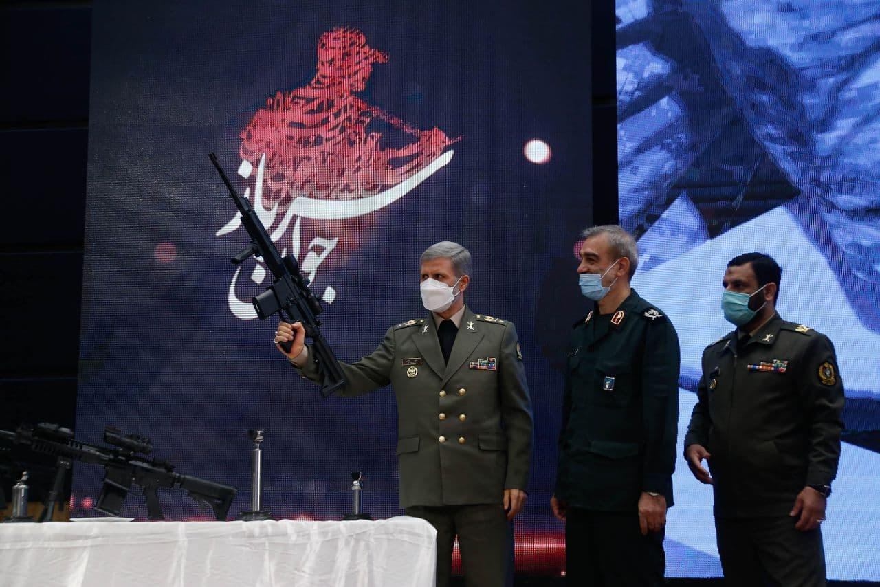 Iran Unveils Homegrown 'Massaf' Assault Rifle