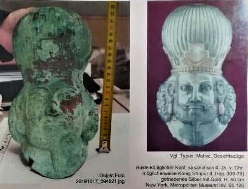 Iran Returns 28 Antiquities Smuggled to Austria