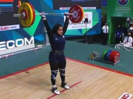 Yekta Jamali Becomes First Iranian Woman to Win World Weightlifting Medal