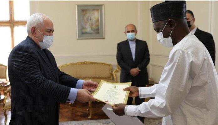 Nigerian, Kenyan Ambassadors Meet with Iran's FM