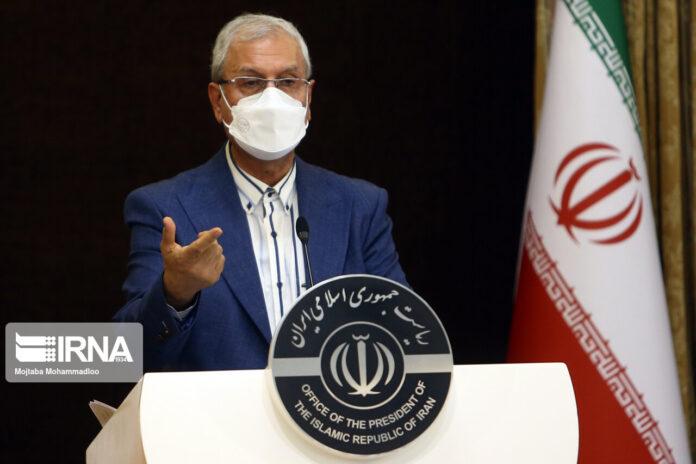 Iran's Government Spokesman Ali Rabiei
